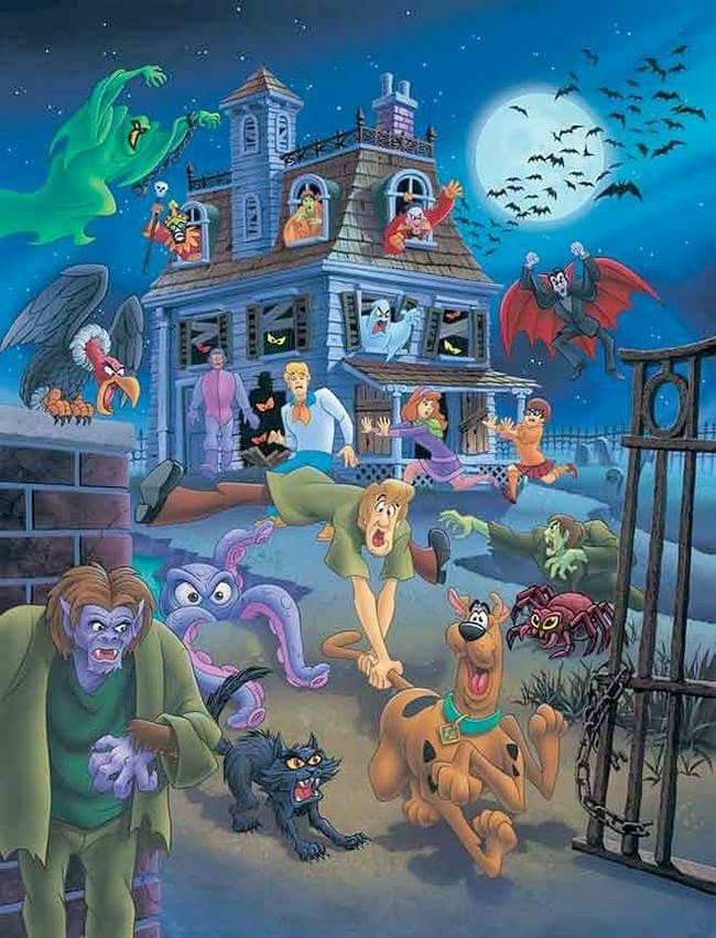 Pin by Holly KallerJohnson on Happy Halloween Scooby