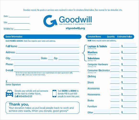 Donation Tax Receipt Template New 10 Donation Receipt Templates Free Samples Examples Receipt Template Donation Form Teacher Newsletter Template Free