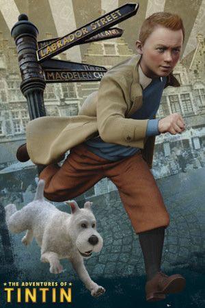 Tintin on the run!