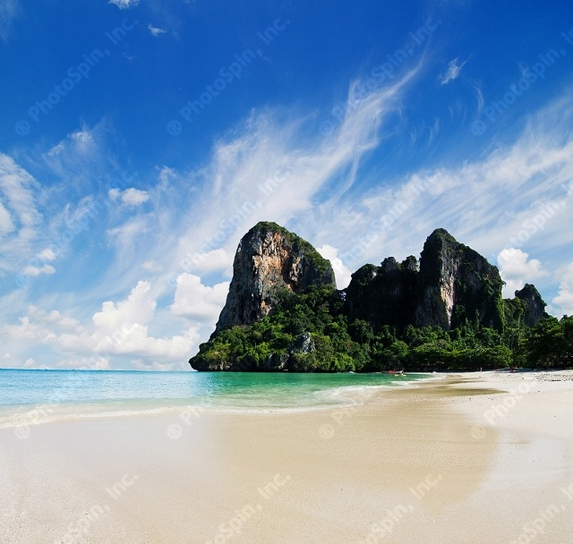 Exotic landscape in Thailand, Krabi by Vitaliy Pakhnyushchyy