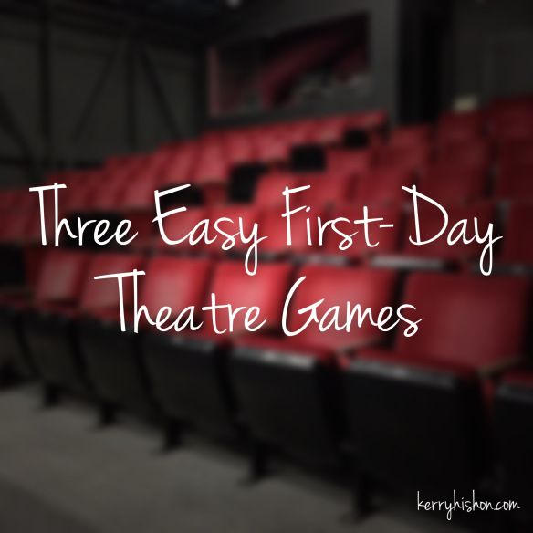 Three Easy First-Day Theatre Games -- the last one would totally work for an elementary dance class because kiddos would need to identify body parts and connect them in cool ways.