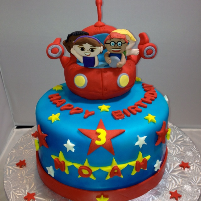 Little Einsteins Cake Ideas