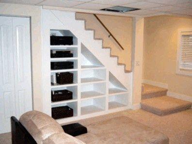 remodeling basements remodeling basement ideas love the use of spacebookshelves because i - Bcherregal Ideen Neben Kamin