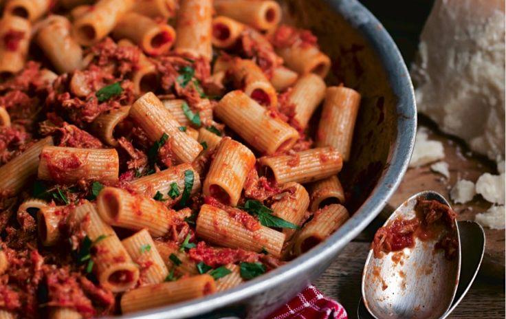 Rigatoni With Sunday Night Ragu Recipe | Food Republic