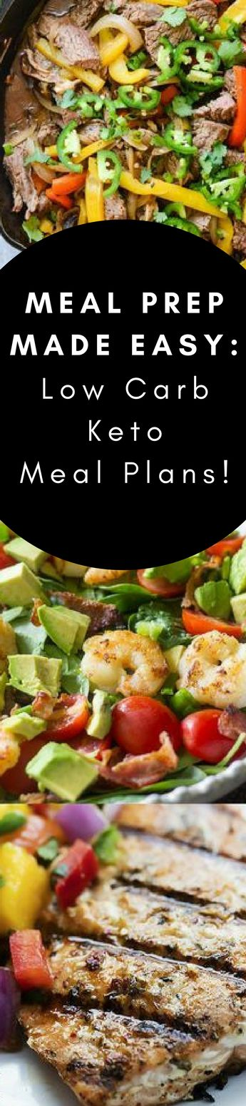 Looking for an even easier way to meal plan? Check out these low carb weekly meal plans - delivered straight to your inbox! #lowcarb #keto #loseweightfastandeasy