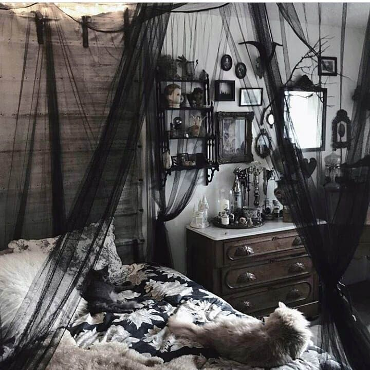 Superb Goth Pastel Bedroom For Your Cozy Home Aesthetic Bedroom Gothic Room Gothic Bedroom