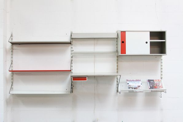 Pilastro 3 Section Industrial Wall Unit  FOR SALE AT WWW.AMSTERDAMMODERN.COM