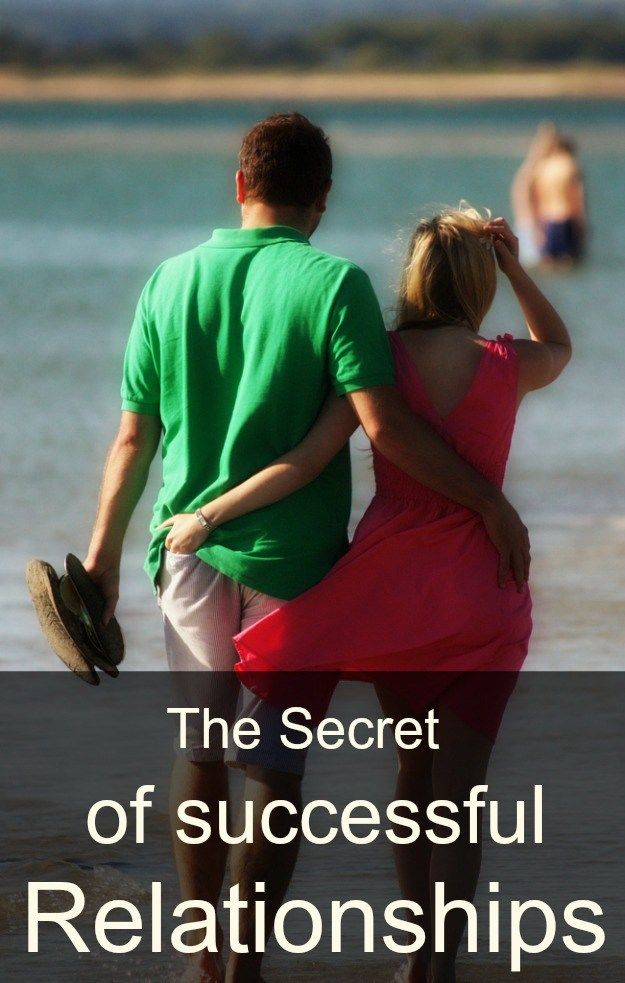 men the secret to successful relationships