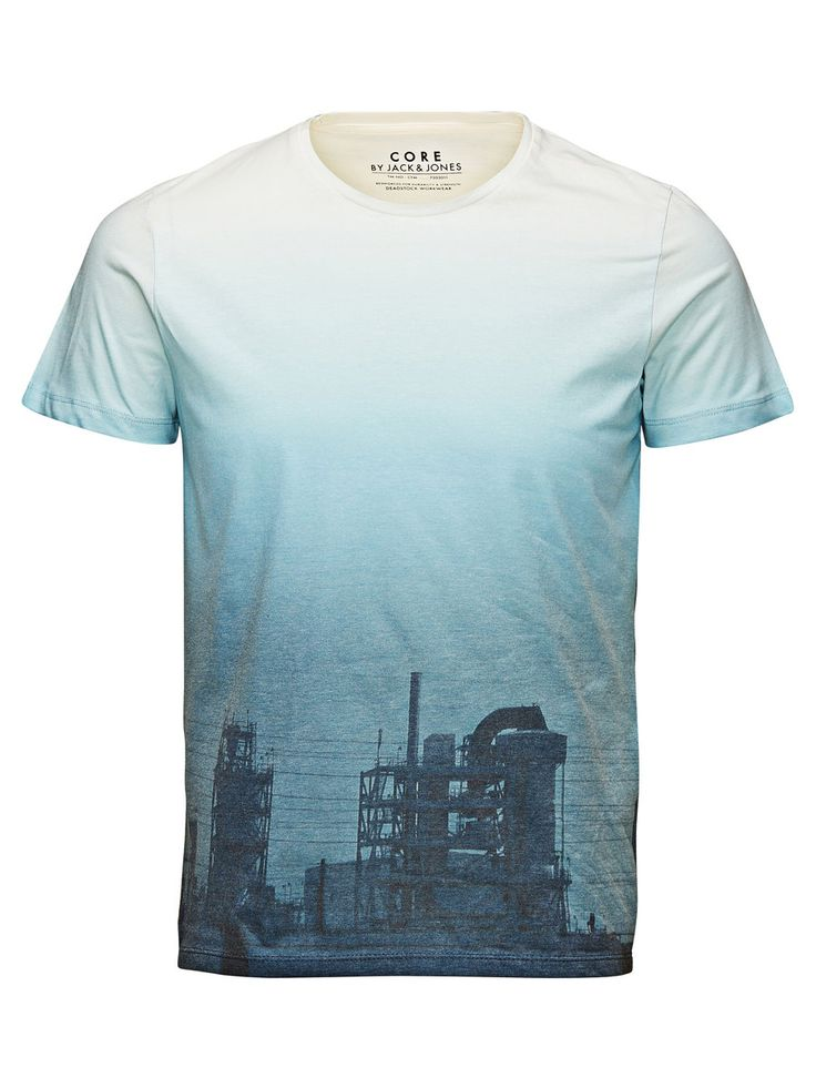 ALL OVER PRINTED T-SHIRT, Cloud Dancer