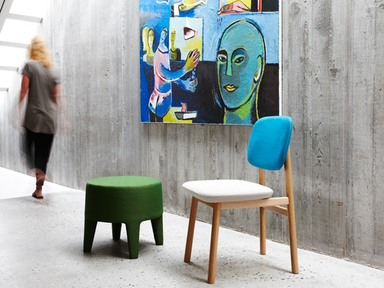 Jardan has a great collection of modern pieces.