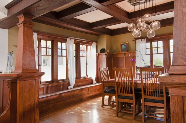 craftsman style decorating | ... craftsman bedroom craftsman dining room extraordinary decor idea
