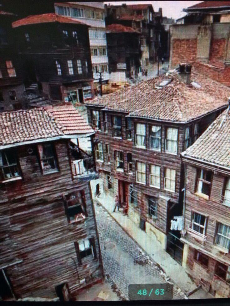 Çevirmeci Sok. Ortaköy 1976 İstanbul  By Ara Güler