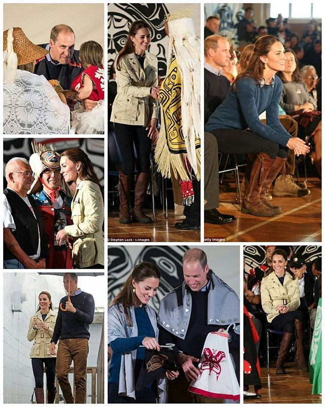 #NEWS #NEW #TODAY The Duke and Duchess of Cambridge have arrived in Bella Bella, Canada. Kate is wearing a jacket by Holland & Holland.  26 September 2016  #thirddayoftheroyaltour #royaltourofcanada  #royaltourofcanada  #picoftheday #postoftheday #bestoftheday #Katemiddleton #kate #middleton #theduchess #duchessofcambridge #royals #Catherine #elizabeth #princewilliam #beautiful #princesskate #lovely #duchessfcambridge #queentobe #catherinethegreat #happiness #royalty #lovethem #canada