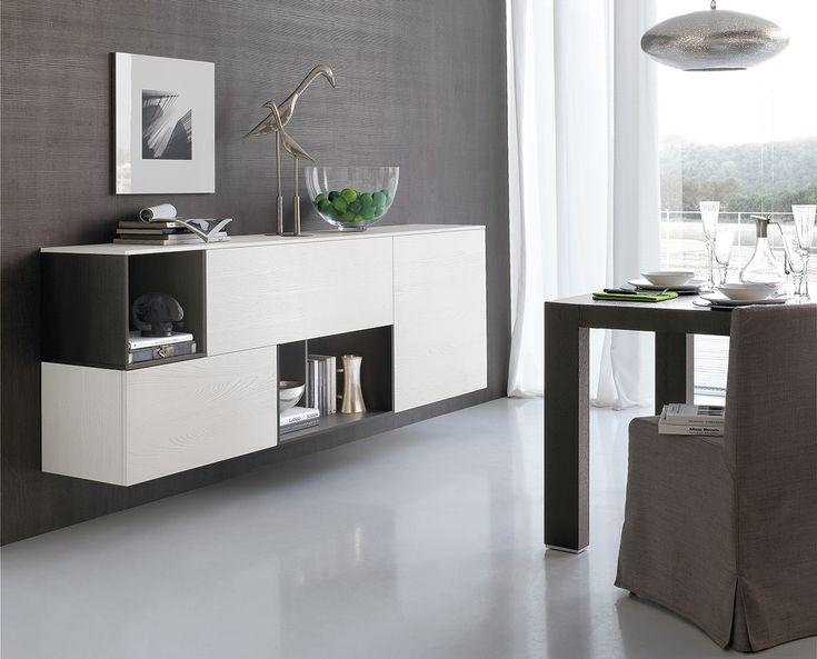 Mobili per arredare il soggiorno con gusto moderno, composizione C110   gruppotomasella.it
