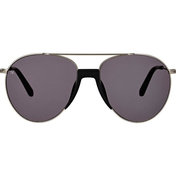 Smoke x Mirrors Men's Fortunate Son Sunglasses (343675 IQD) ❤ liked on Polyvore featuring men's fashion, men's accessories, men's eyewear, men's sunglasses, grey, mens sunglasses, mens aviator sunglasses, mens eyewear, mens mirrored aviator sunglasses and mens aviators
