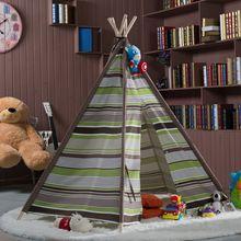 Детский игровой домик палатка индийский детка фотографии инструменты пентагон хлопковый холст палатка(China (Mainland))