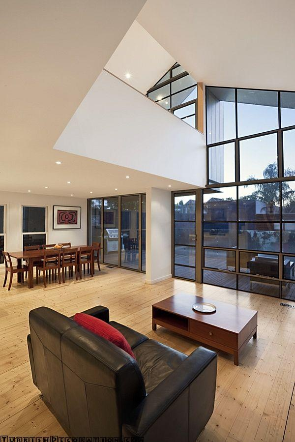 Australia Based Studio Bild Architecture Designed The Blurred House A Major Renovation And Extension Project Located In Melbourne Victoria