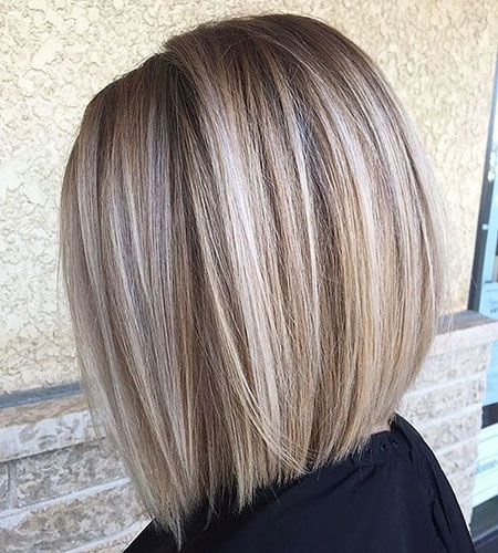 Coiffures Blondes, Coiffures Blondes Bob, Balayage, Highlights, Blanc