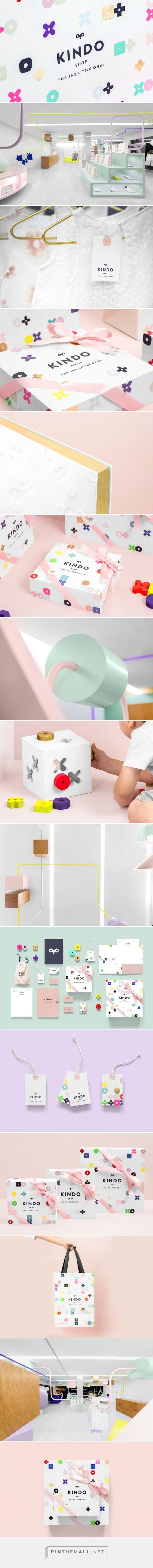 Kindo #Kids #Clothing #packaging designed by Anagrama - http://www.packagingoftheworld.com/2015/07/kindo.html