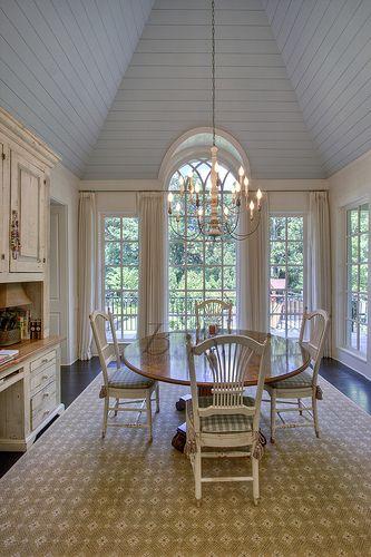 Design Chic: Things We Love: Blue Ceilings