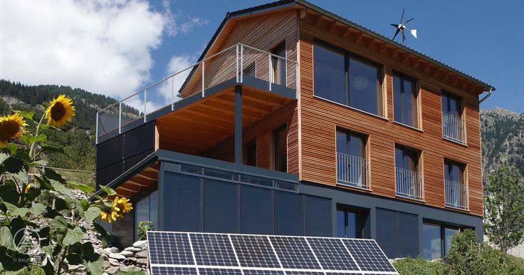 Ökohaus Energie-Autarkes Haus Markert