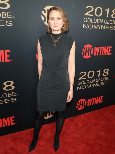 Anna Madeley is seen attending Showtime Golden Globe Nominees Celebration at Sunset Tower in Los Angeles, California.