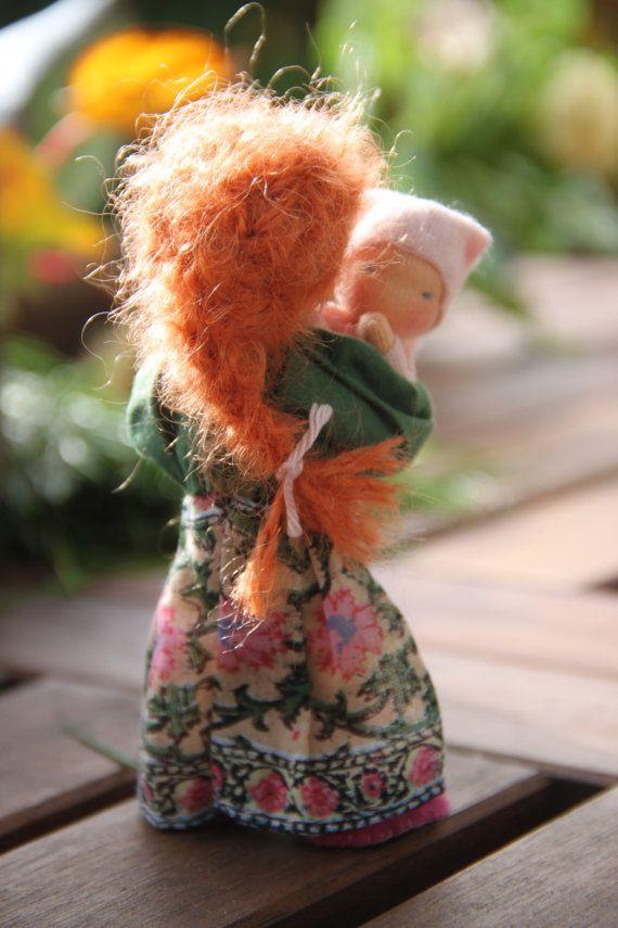 Custom order one for Jennifer Bendy dollhouse doll by ElineDolls