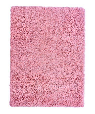 Pink Super Shag Rug #zulilyfinds