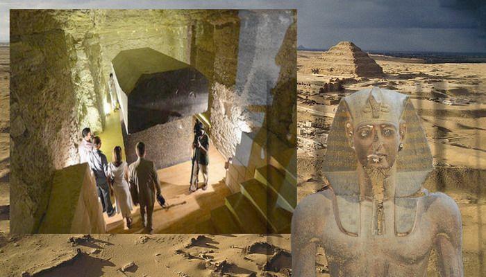 El misterio de las 24 cajas negras descubiertas en Egipto