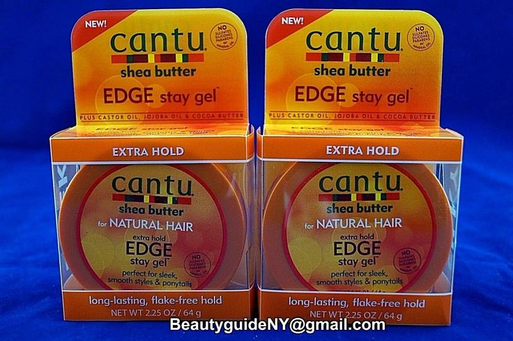 Cantu Shea Butter Edge Stay Gel (Pack Of 2)