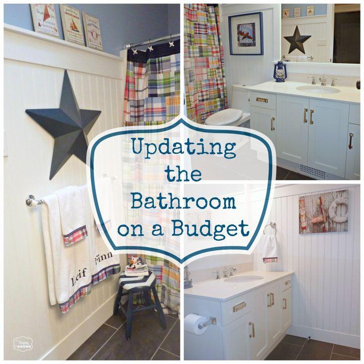 Bathroom Vanity Update best 25+ how to update a bathroom ideas on pinterest | diy