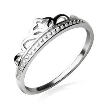 Crown ring. For girls when they get older? Promise ring to be His princess until they get married?