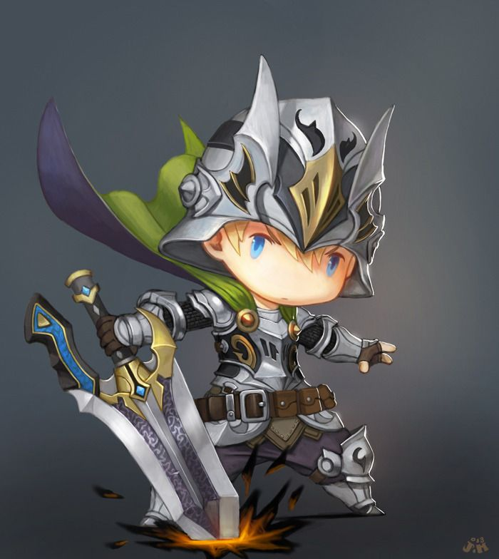 Knight by Kveldulv