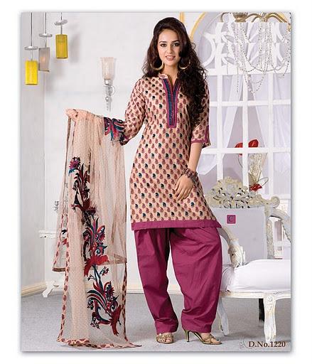 Cotton Salwar Kameez - Fashion of Indian