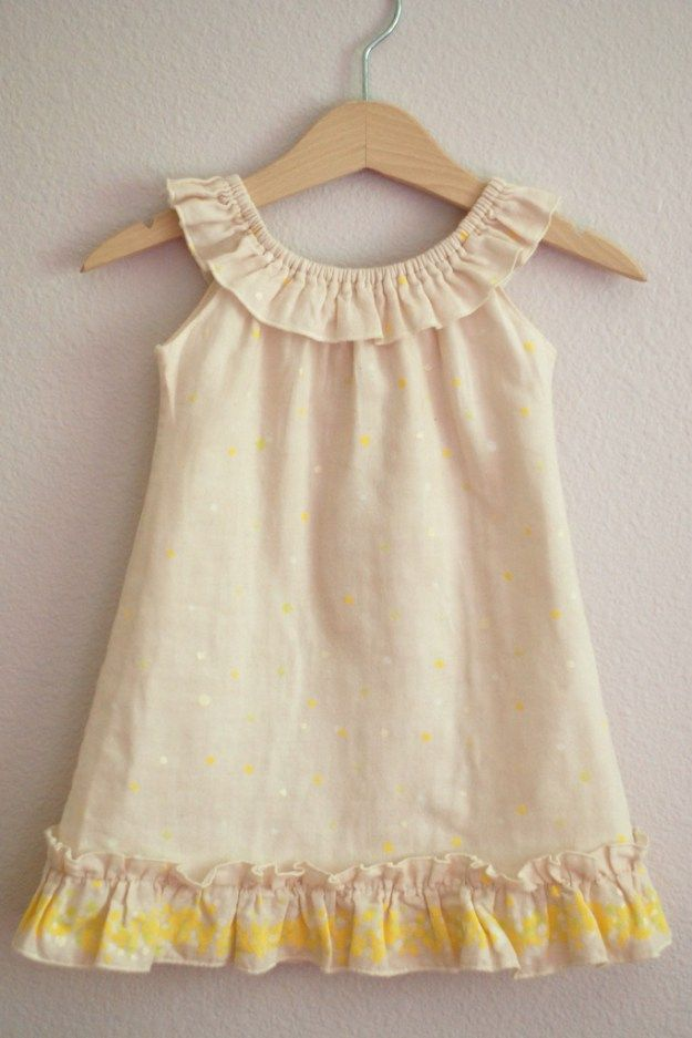 The 1528 best Sewing for Little Girls images on Pinterest | Patrones ...