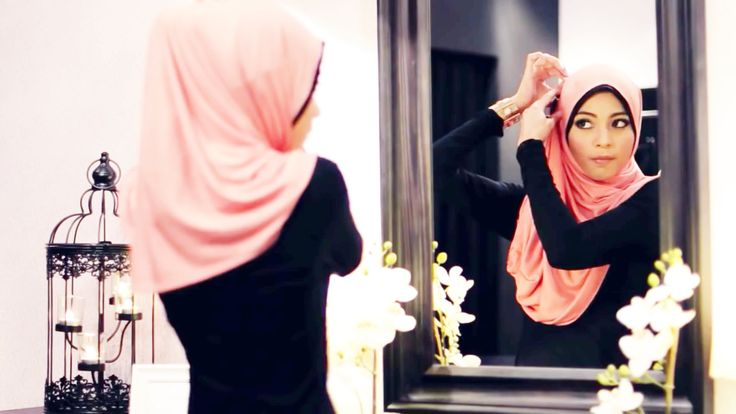 7 Modern Hijab Style Tutorials For Round Faces