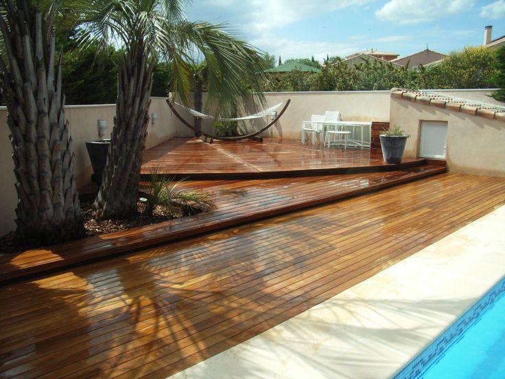 17 best ideas about margelle de piscine on pinterest for Piscine teck