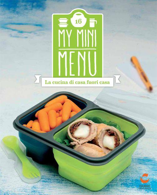 Lunch box in silicone salvaspazio doppia vaschetta #edicola #collezione #myminimenu