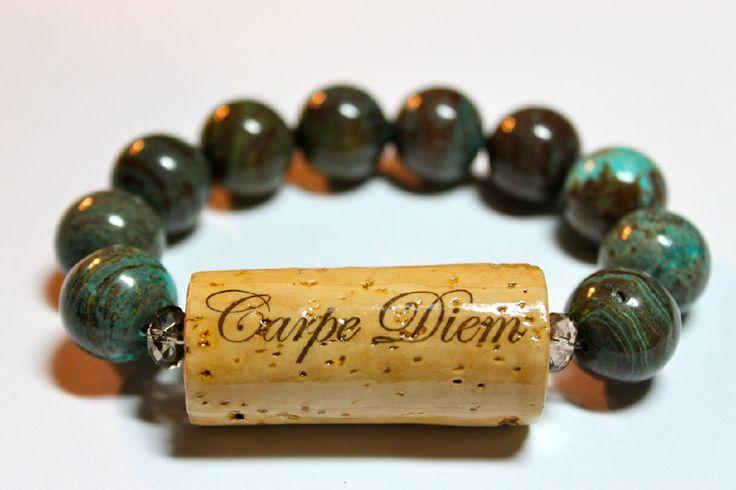 Varnish your wine corks! | creationsbydebi.com