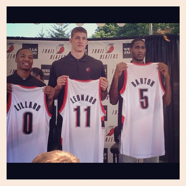 Portland Blazers Number 30: 17 Best Images About Meyers Leonard On Pinterest