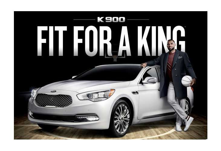 LeBron James - Kia Κ900