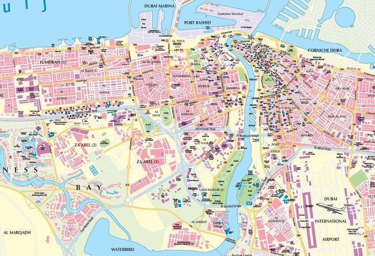Complete Dubai City Map plus Travel Information Guide for Travelers,tourist map dubai,dubai city map pdf,dubai city map free download,dubai ...