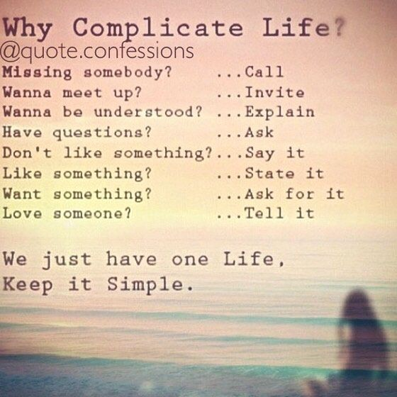 "13.7k Likes, 146 Comments - Daily Quotes And Confessions (@quote.confessions) on Instagram: ""Keep it simple guys ☺️ #advice #relationshiprules #missingyou"""