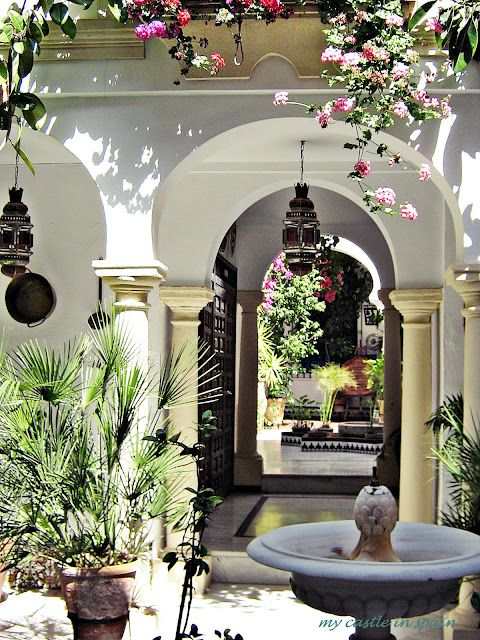 Andalusian courtyard
