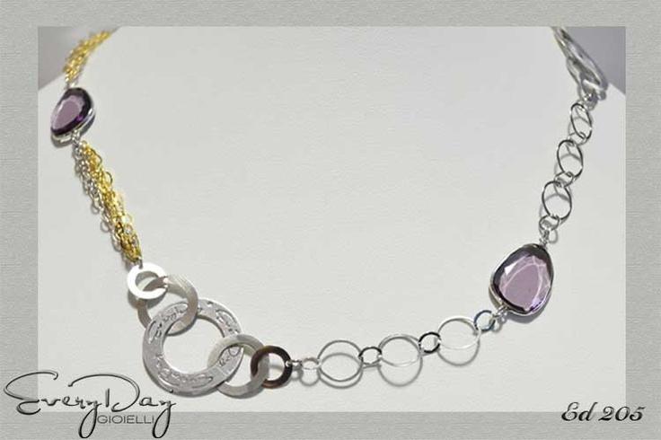 #Collana #argento #everydaygioielli  #silver   www.fashiongoldgioielli.com