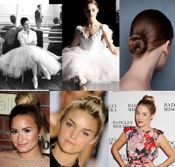 Não sabe o que usar? Aposte no penteado de bailarina...http://www.sacadafashion.com.br/penteado-bailarina-sinonimo-de-elegancia