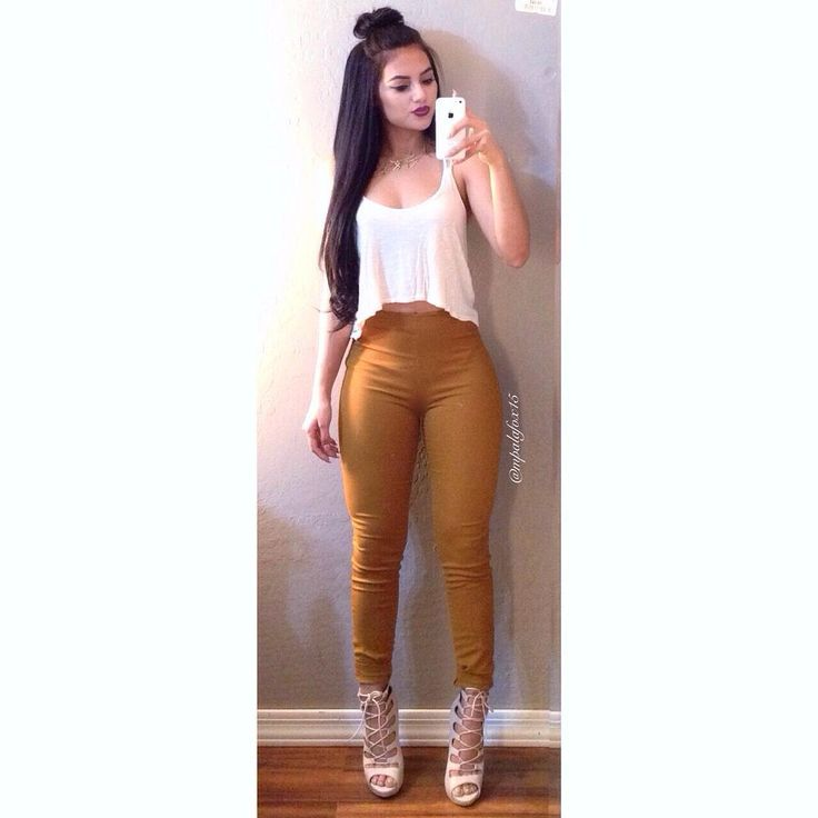 Maria Palafox Official Ig On Instagram Goodnight Ig Casualootn Top Wet Seal Bottoms H M