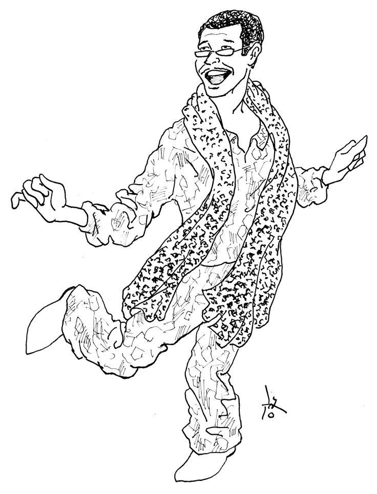 PPAP ピコ太郎さん3回目 - 啓の有名人の手描き似顔絵。