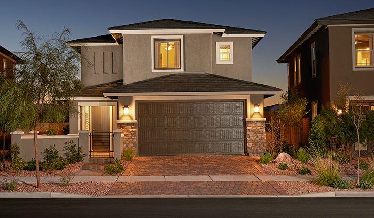 Beautiful mediterranean exterior las vegas by elegant homes - 17 Best Images About Las Vegas Dream Homes On Pinterest