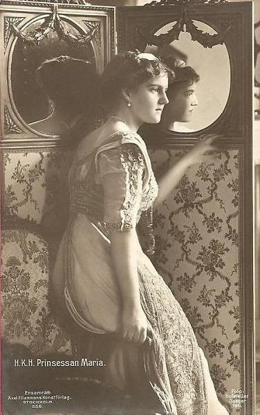 Victorian lady's photo.